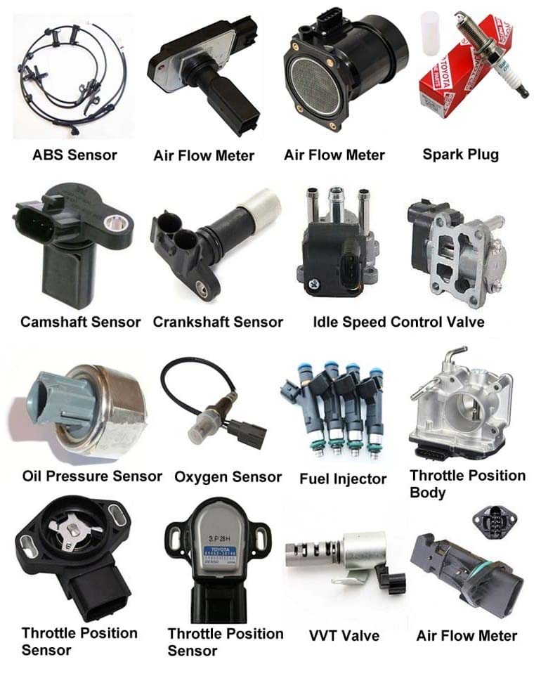 electronic parts of car
